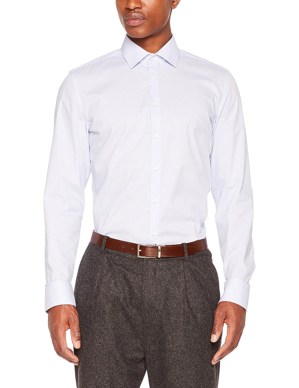 TALLA 44. Seidensticker Camisa de Oficina para Hombre