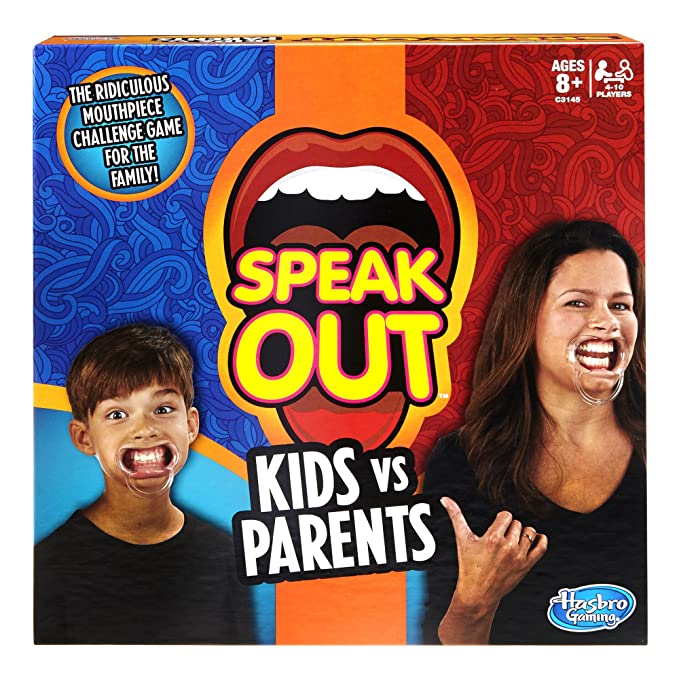 Speak out kids vs parents game board games amazon canada solutioingenieria Gallery