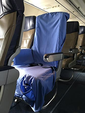 Amazon.com | Antimicrobial Airplane Seat Cover - Germ Protection ...