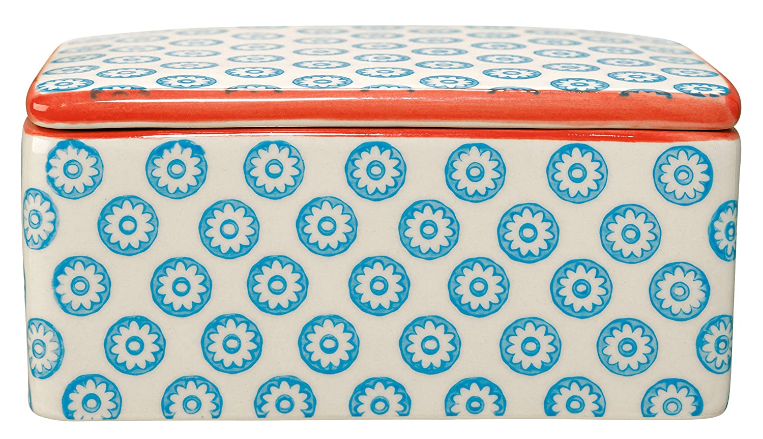 Bloomingville Emma Butter Box Blue Stoneware