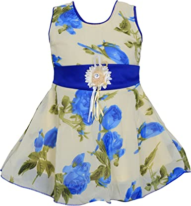 MPC Cute Fashion Baby Girl's Sifon Print Frock Dress for Girls' Dresses & Jumpsuits at amazon