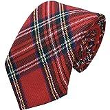 Men's Scottish Royal Stewart Tartan Neck Tie