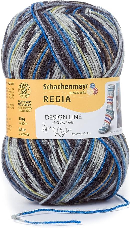 Regia Diseño Línea por Arne /& Carlos 4 capas color 100g