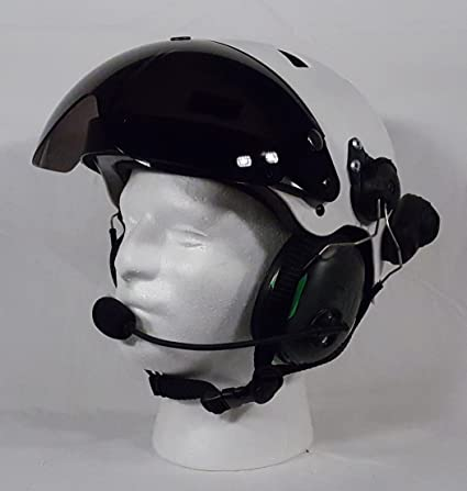 Amazon com: Paramotor Helmet Wireless with Noise Canceling