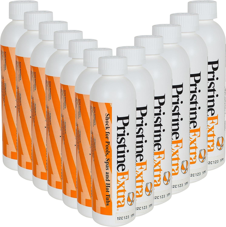 Amazon.com: Pristine extra Pool & Spa de 8 oz cloro Choque ...