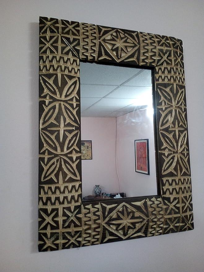 Spiegel Bilderrahmen Wand aus Holz Geschnitzt Marokko 1215 Moroccan ...