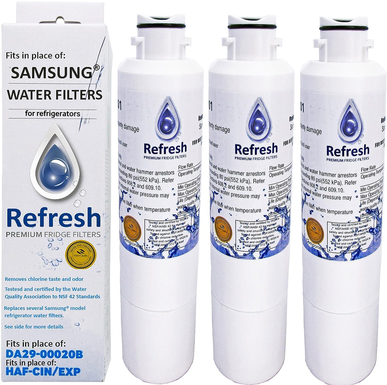 Fridge Filters Amazoncom Samsung Da29 00020b Compatible Water Filter For