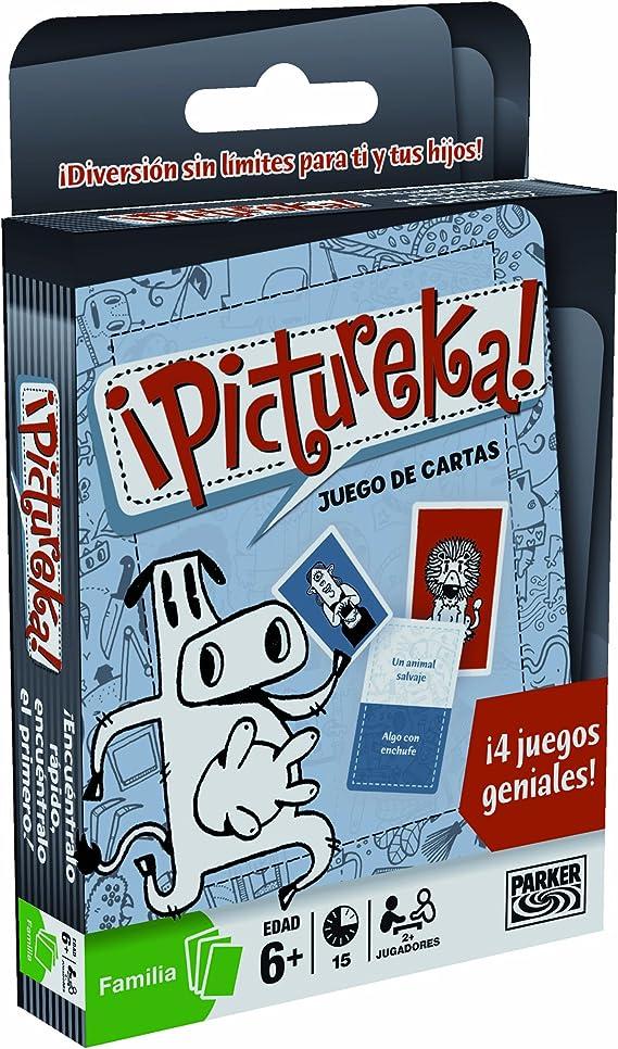 Hasbro Juegos Pictureka Juego De Cartas 04909546: Amazon.es: Juguetes y juegos