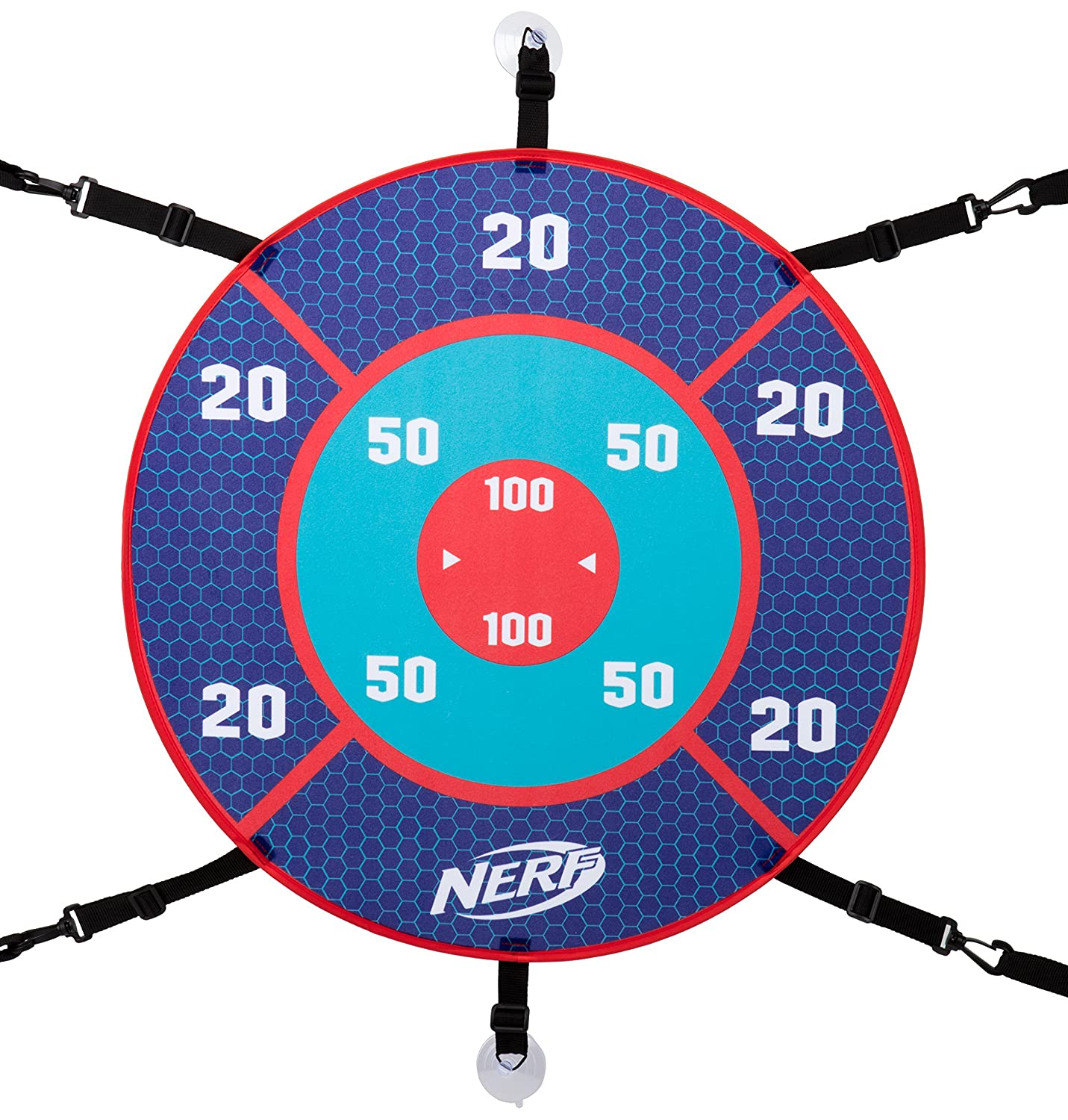 orange and blue Nerf Sports Challenge Tailgate Target Toy Sports ...