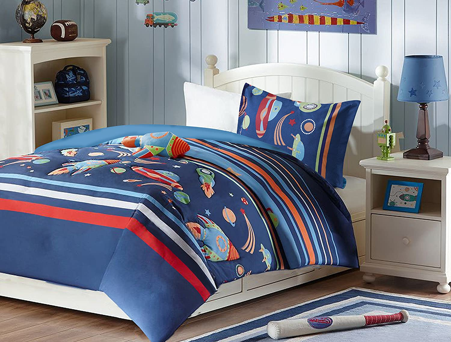 Attractive All American Collection Comforters with More – Ease Bedding with Style EA91