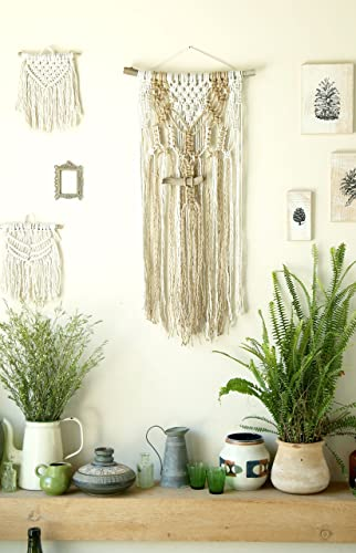 Boho Wall Tapestry, Macrame Wall Hanging, Modern Macrame Wall Art, Wall  Decor
