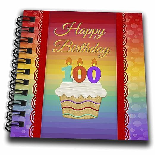 3dRose Cupcake con número velas, 100 años de edad cumpleaños ...