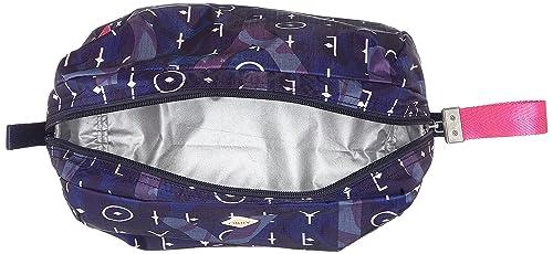Oilily - Ruffles Washbag Mhz 1, Carteras de mano Mujer, Blau (Dark Blue), 6x16x23 cm (B x H T): Amazon.es: Zapatos y complementos