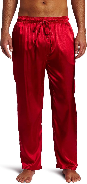 Intimo Men's Classic Satin Sleep Pant