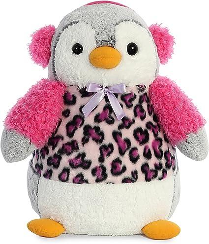 Christmas Items 11.5 Pompom Penguin Rainbow Lilac Aurora