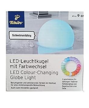 784e6f9b07 TCM Tchibo LED Leuchtkugel mit Farbwechsel Lampe Licht Kugel Badewanne