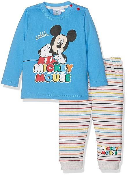Disney 160934, Conjuntos de Pijama para Bebés, Azul (Bleu), 0-