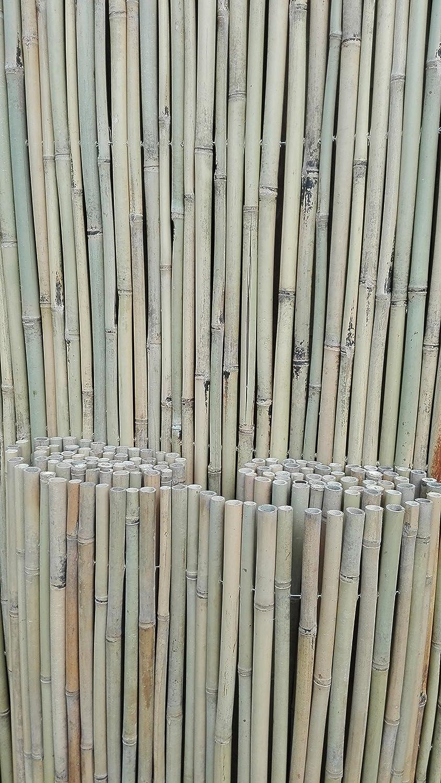 Amazon Bambusmatte Sichtschutz Bambus Gartenzaun Windschutz