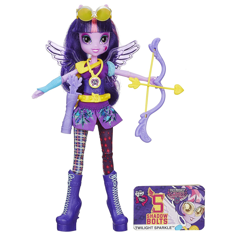 My Little Pony Equestria Girls Archery Cp Twilight Sparkle Doll