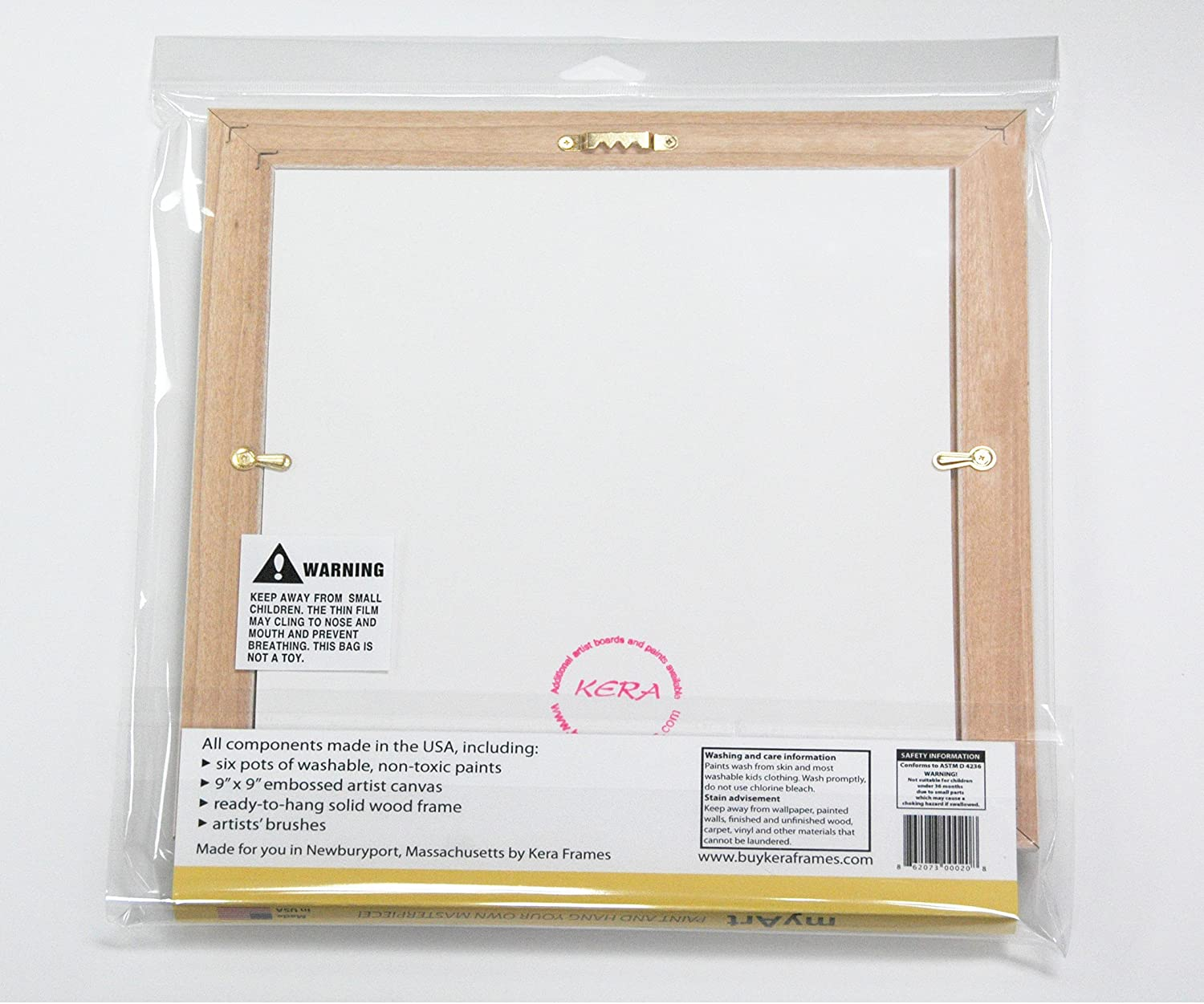 Amazon my art by kera frames kids painting and frame kit amazon my art by kera frames kids painting and frame kit ready to hang made in the usa toys games jeuxipadfo Gallery