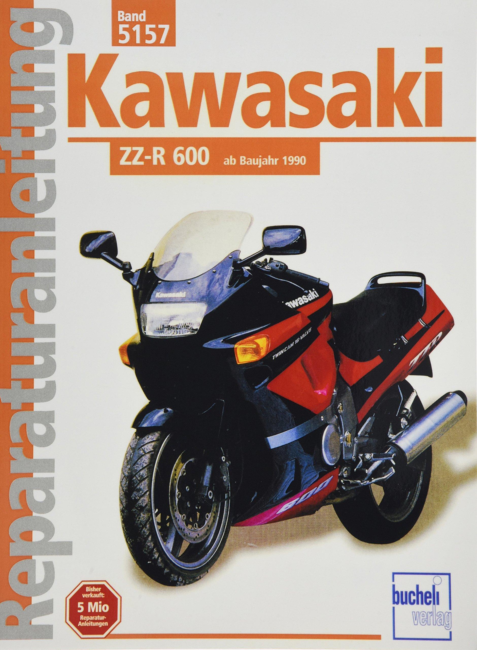 Kawasaki Zz R 600 Ab 1990 Reparaturanleitungen Bücher