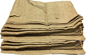 AAYU Burlap Sand Bags | Used for Flood Control, Water Carving Barrier, Gardening and Sack Races | 32 x 14 inch (10 Packs) | 26 X 14 (15 & 20 Packs)