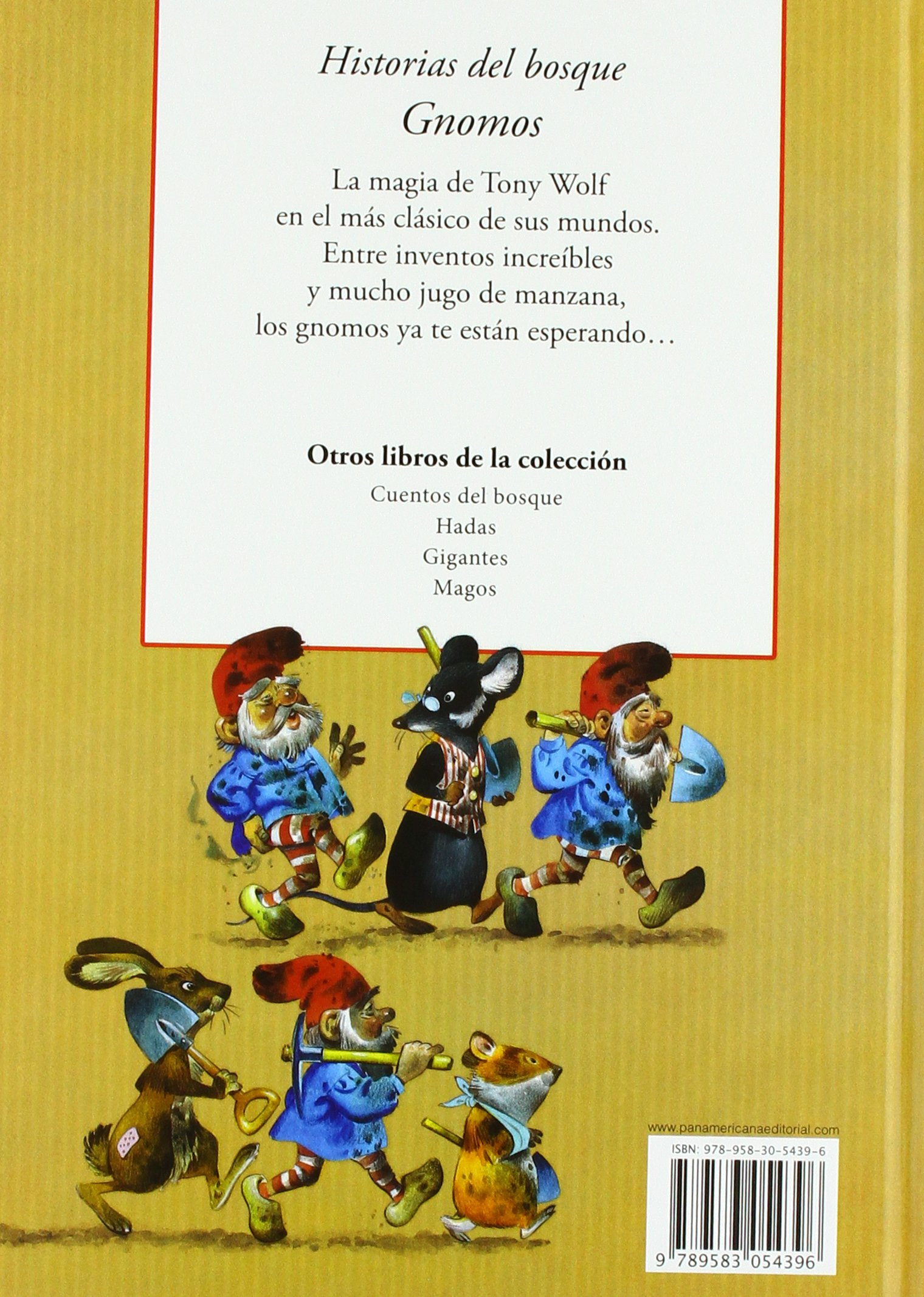Historias del Bosque Gnomos (Spanish Edition): Peter ...