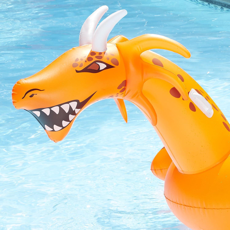 Amazon.com: Aqua Leisure Lites Up scorch-the-dragon Ride-On ...