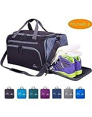 Venture Pal Packable Sports Gym Bag Wet Pocket & Shoes Compartment Travel Duffel Bag Men Women