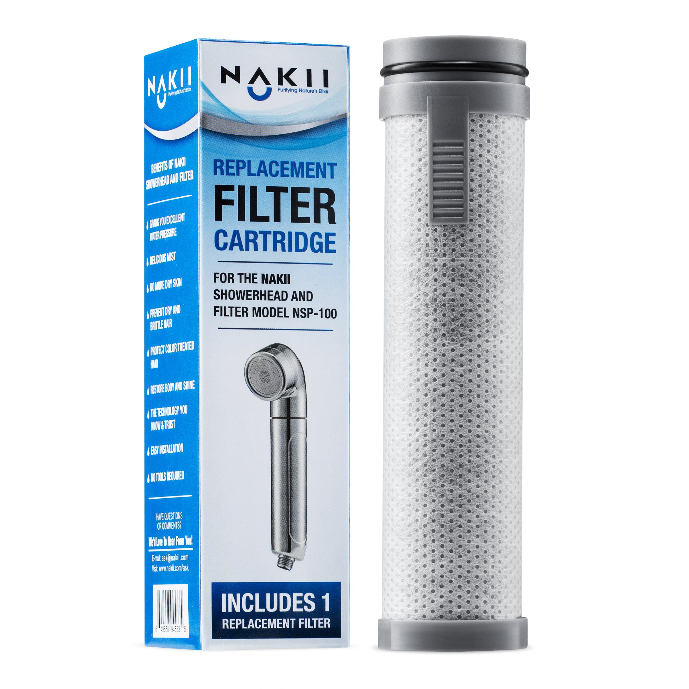 Nakii Replacement Filter For NSP-100, Single Pack