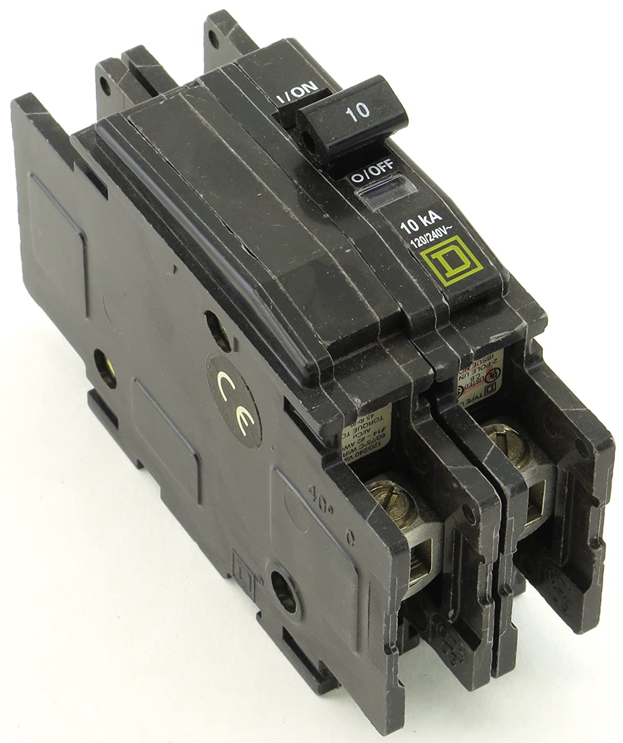 Square D Qou210 Miniature Circuit Electrical Equipment Breaker Types Video Different Of Breakers Ehow