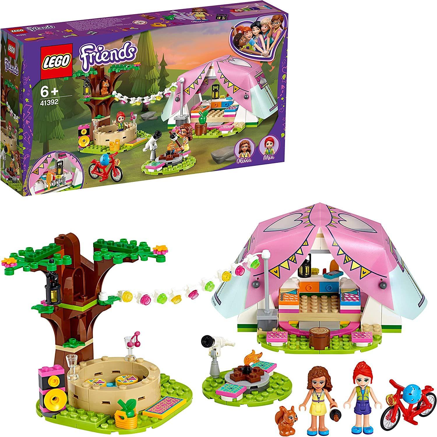 LEGO Friends Nature Glamping Outdoor Adventure Playset 20% OFF £19.99 @ Amazon