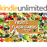 Fruits flashcards for kindergarten: 50 fruits flashcards, standard glenn doman flash cards, early learning for babies, early childhood development... (Early ... learning education Book 3) (English Edition)