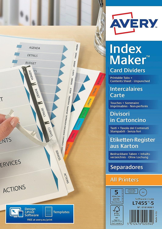 Amazon.com: IDXMAKER DIV 5PT UNPCHD WHT L7416-5M FPC ...