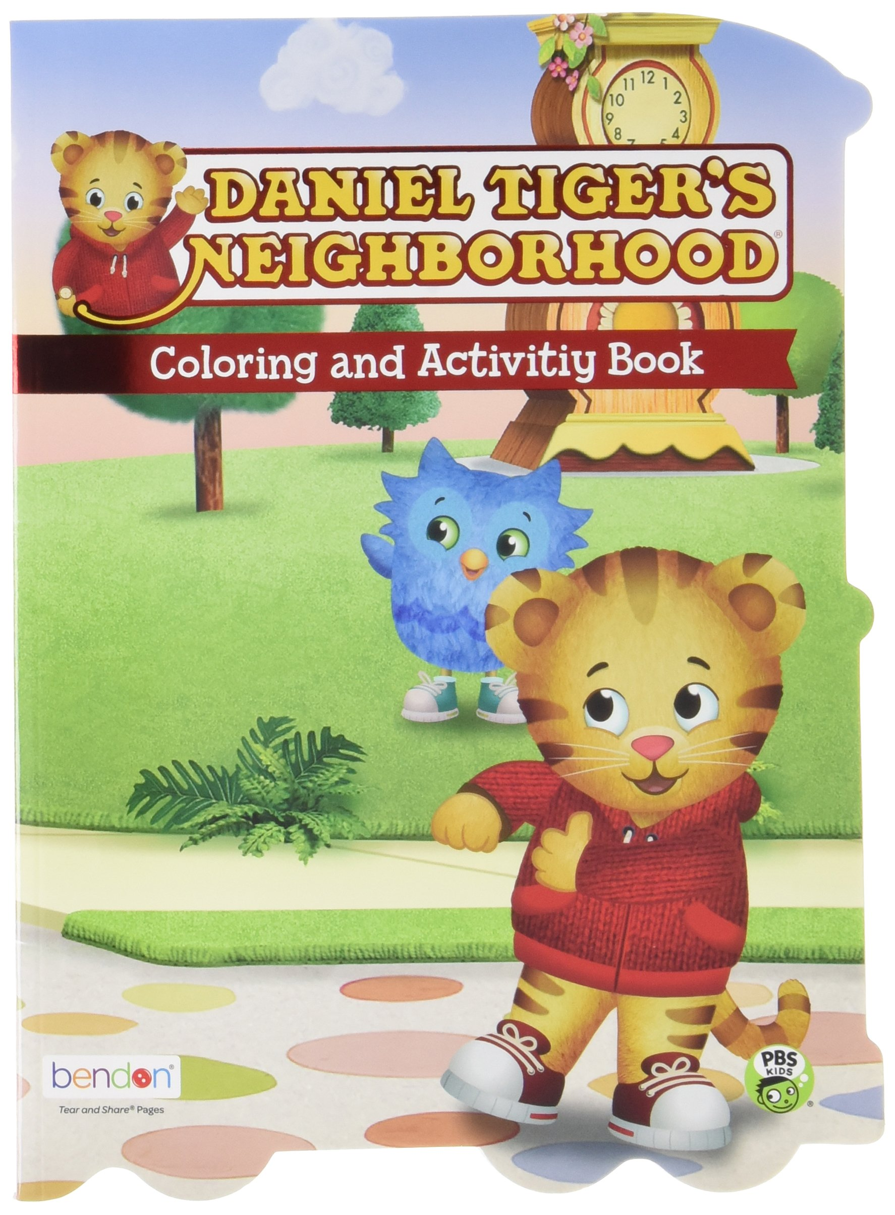 Daniel Tiger S Neighborhood Coloring And Activity Book Bendon