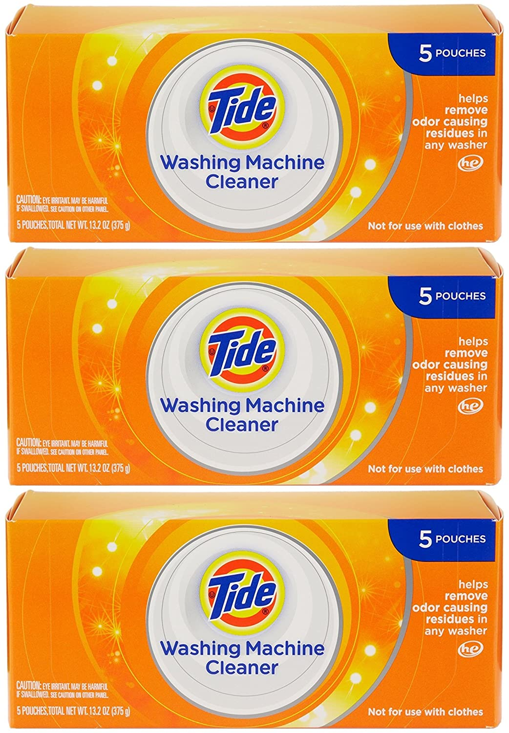 Amazon.com: Tide Washing Machine Cleaner 5ct He 3-Pack: Home & Kitchen