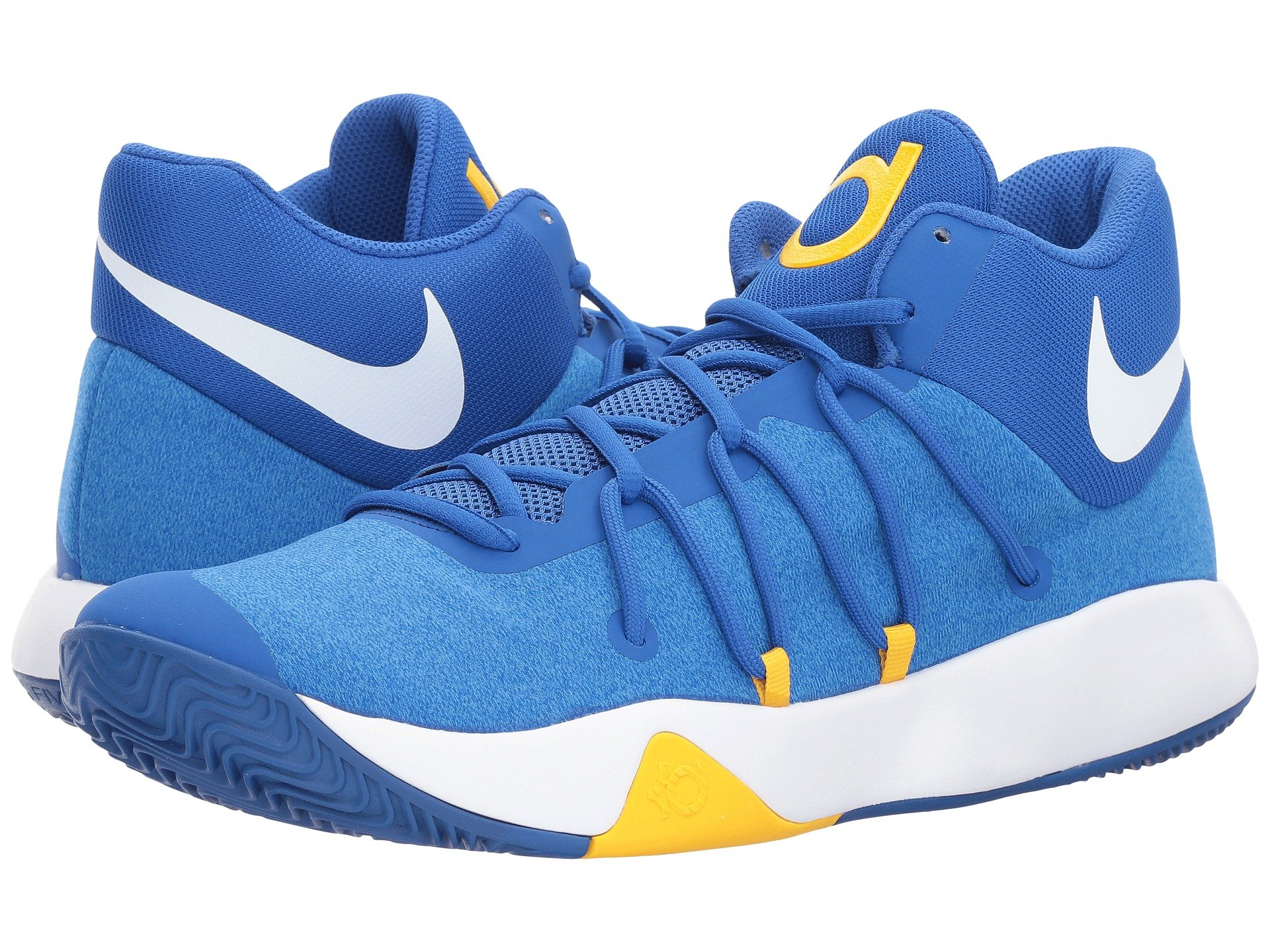 NIKE KD Trey 5 V Mens Fashion-Sneakers 897638-400_11.5 - Royal Blue/White-University Gold