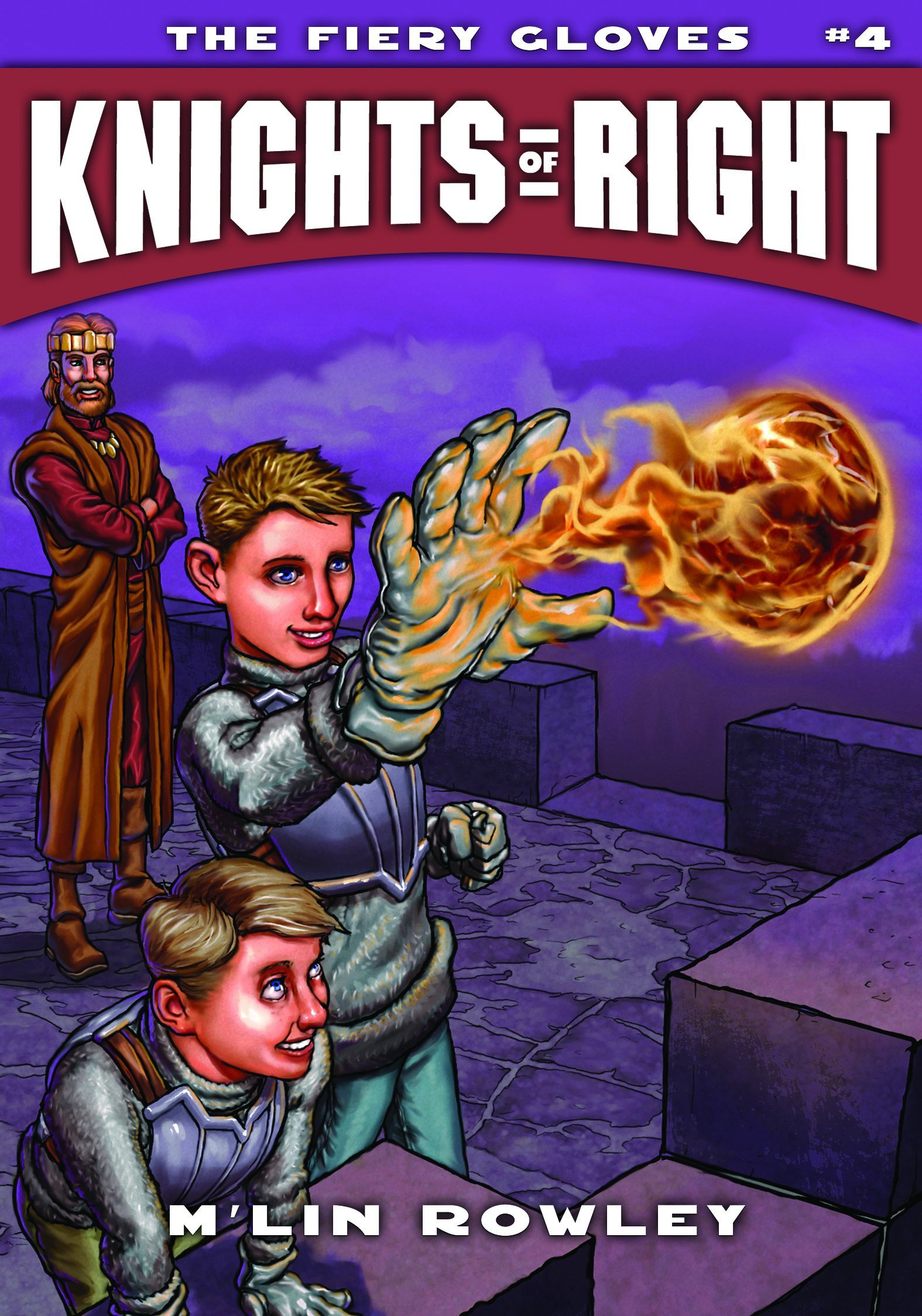 Knights of Right - The Falcon Shield: Book One (Knights of Right (Paperback))