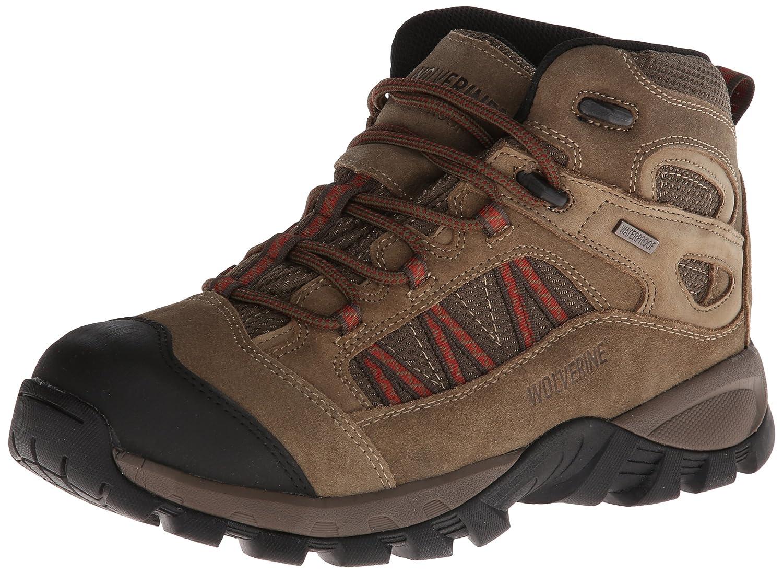 e6d908a35d1 Wolverine Men's Black Ledge FX Mid-Cut Hiker Shoe