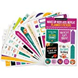 Essentials Planner Stickers - Wake Up Kick Ass (Set of 150 Stickers)