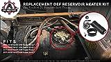Diesel Exhaust Fluid Reservoir Heater Kit - 6.7L V8 DEF - Fits 2011, 2012, 2013, 2014, 2015, 2016 Ford F-250, F-350, F-450, F-550 Super Duty - Replaces BC3Z5J225KA, BC3Z5J225L, 904372, Dorman 904-372