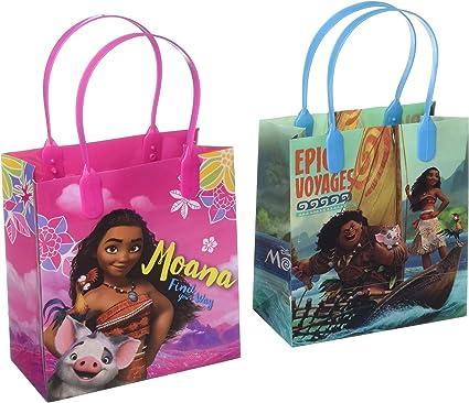 Amazon.com: Disney Moana fiesta botín bolsa 12 piezas ...