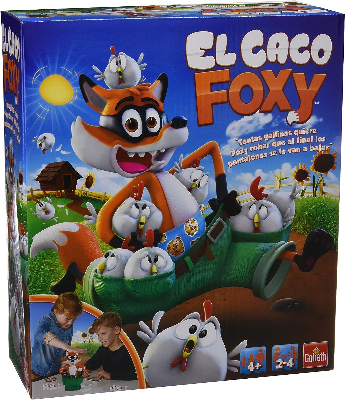 Goliath - El Caco Foxy, Juego de Mesa 30749006: Amazon.es: Juguetes y juegos