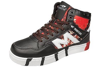 TOP Freizeitschuhe Damenschuhe Sneakers Sportschuhe 5037 Schwarz 36