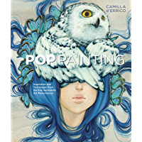Pop Painting: Inspiration and Techniques from the Pop Surrealism Art Phenomenon book cover