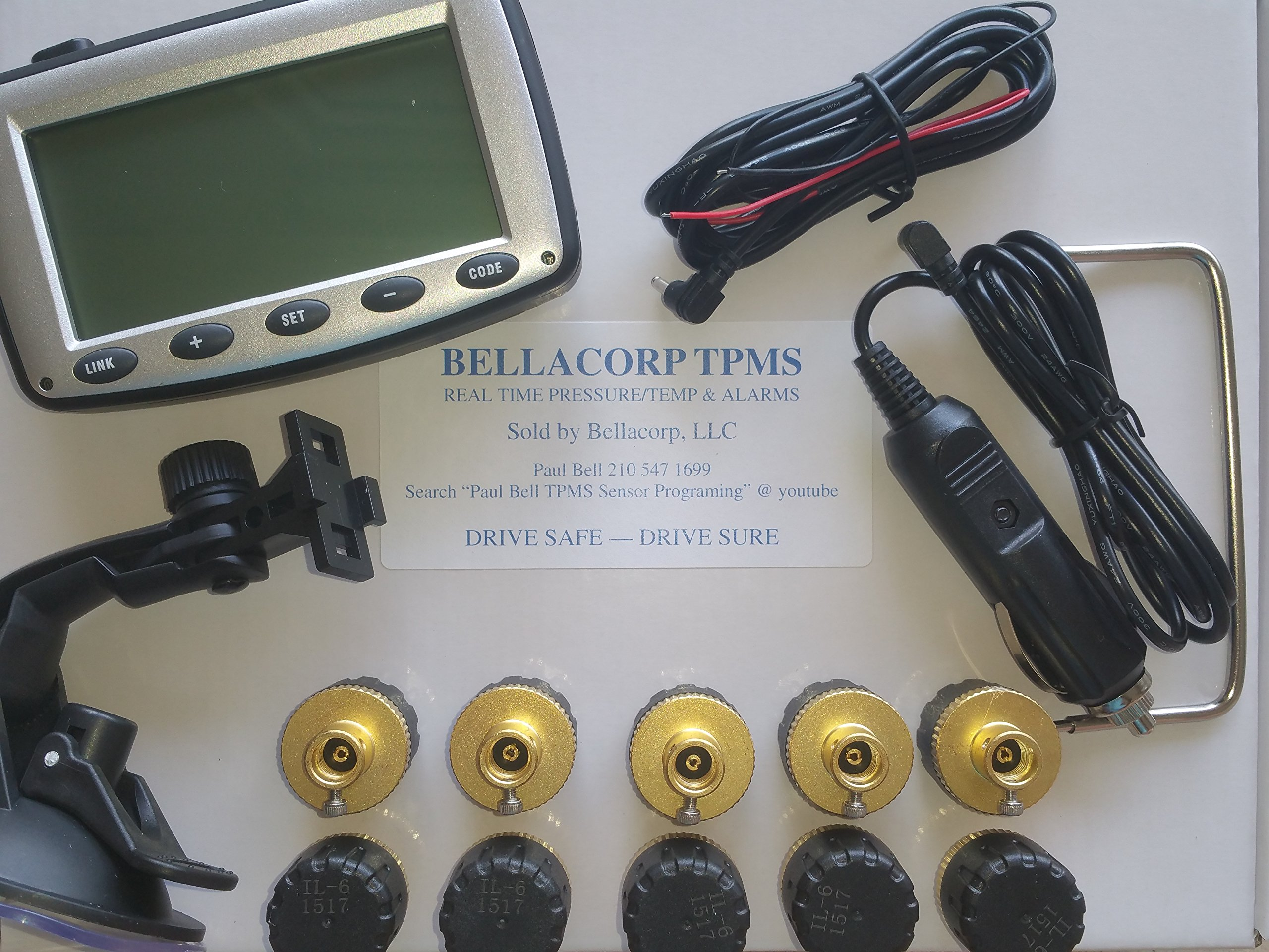 TPMS EK215T10 Tire Pressure Monitoring System by TPMS (Image #1)