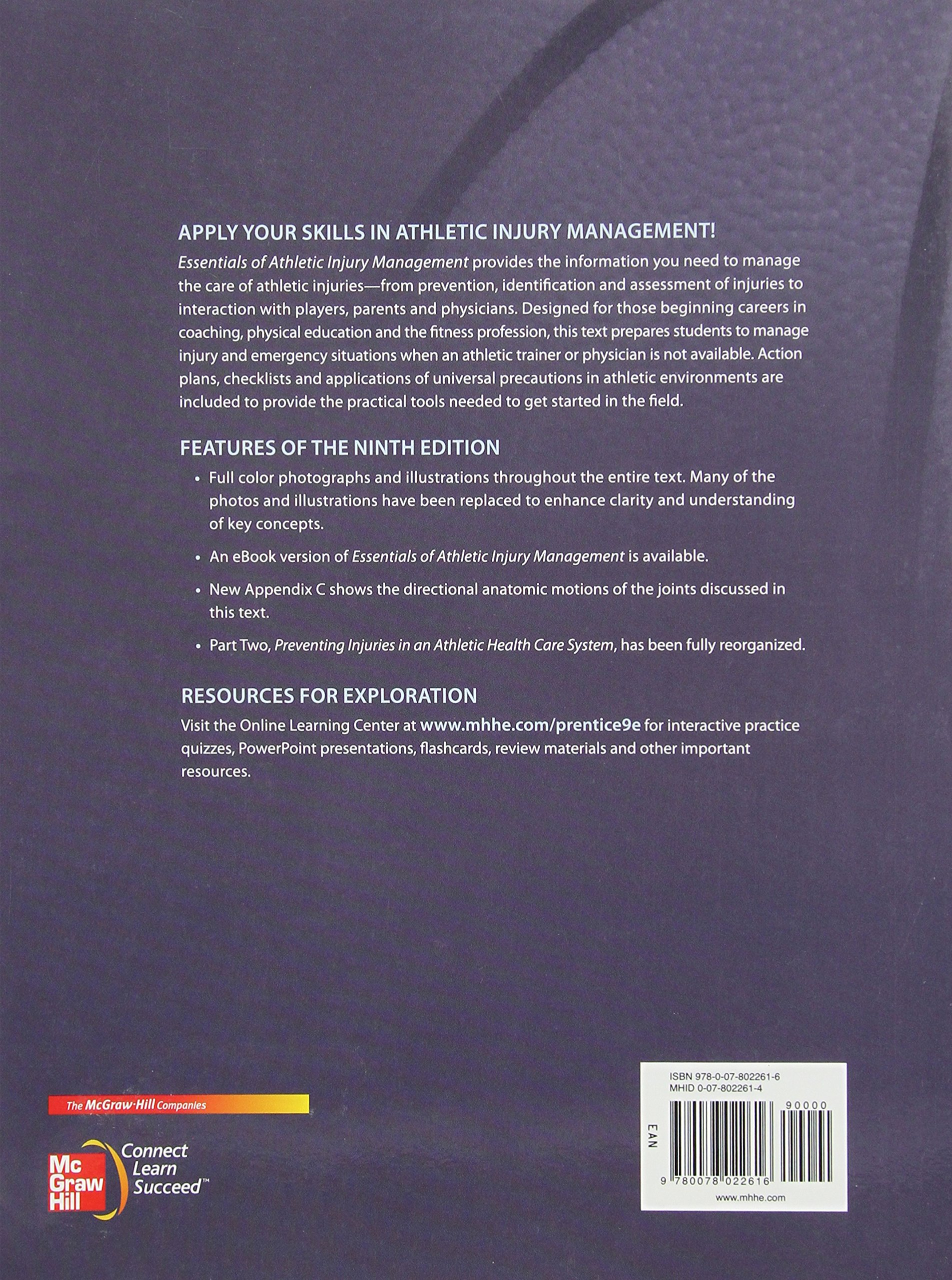 Essentials of Athletic Injury Management by Brand: McGraw-Hill Humanities/Social Sciences/Languages