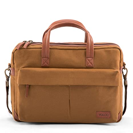 Business Laptop Briefcase Business Concept Startup Businessmen Multi-Functional Large Satchel Handbags Fit for 15 Inch Computer Notebook MacBook