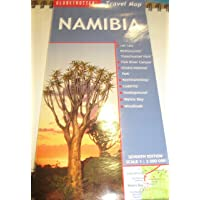 Namibia Travel Map, 7th