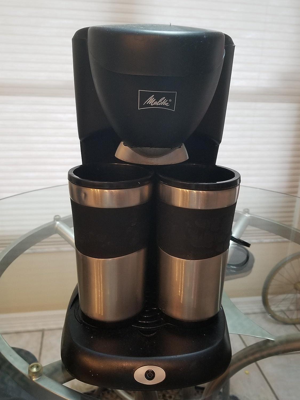 Melitta ME2TMB Take 2 Stainless Steel Travel Mug Coffeemaker